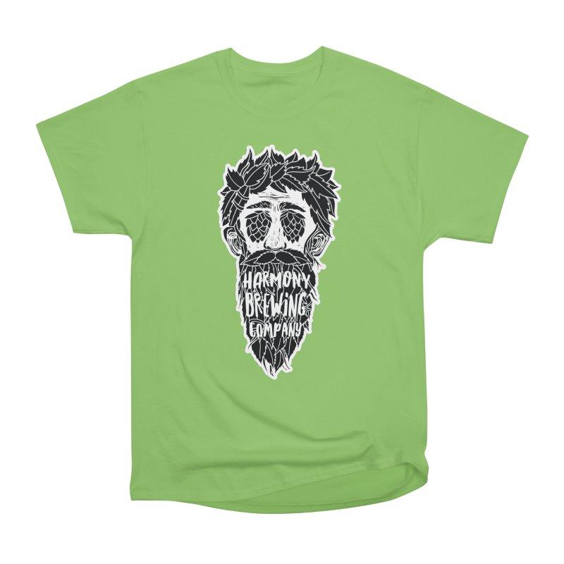 Hop Eyed Guy Men's Heavyweight T-Shirt by Harmony Brewing Company
