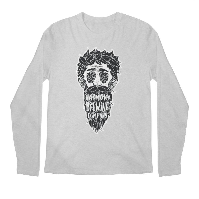 Hop Eyed Guy Men's Regular Longsleeve T-Shirt by Harmony Brewing Company