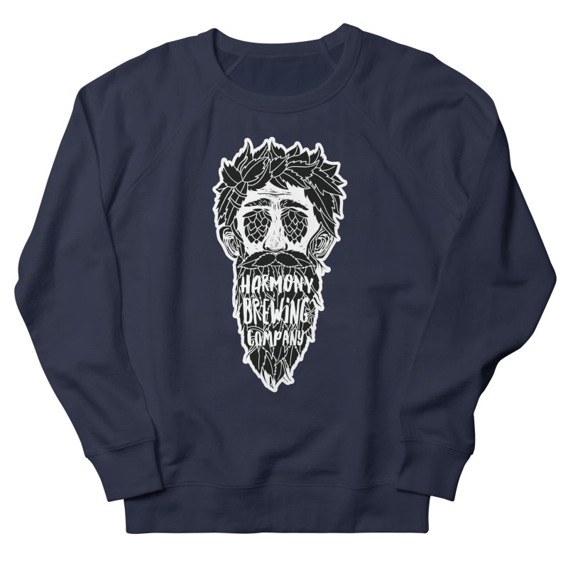 Hop Eyed Guy Men's French Terry Sweatshirt by Harmony Brewing Company