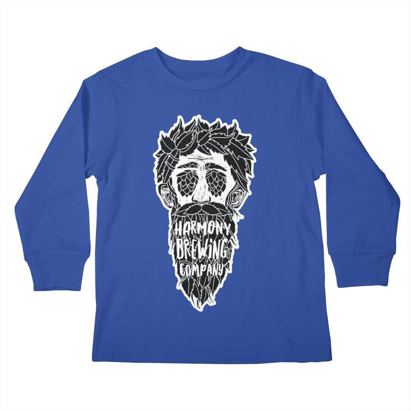 Hop Eyed Guy Kids Longsleeve T-Shirt by Harmony Brewing Company