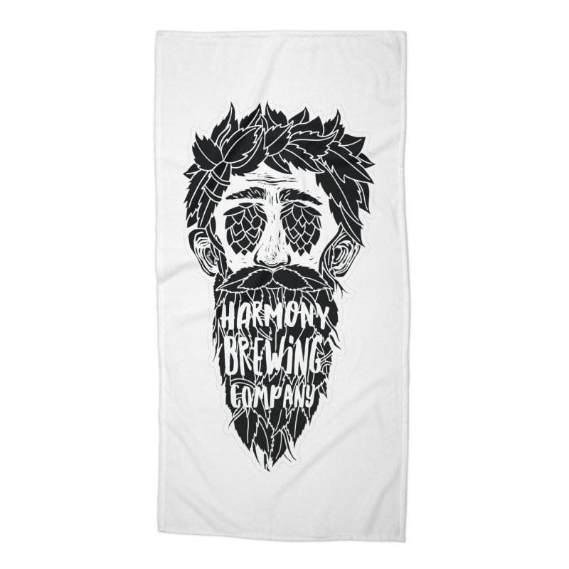 Hop Eyed Guy Accessories Beach Towel by Harmony Brewing Company