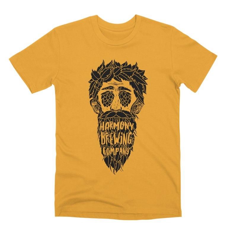 Hop Eyed Guy Men's Premium T-Shirt by Harmony Brewing Company