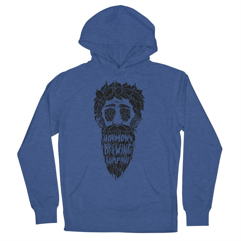 Hop Eyed Guy Men's French Terry Pullover Hoody by Harmony Brewing Company