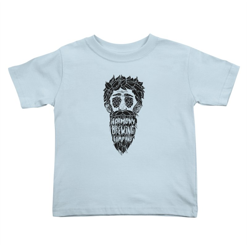 Hop Eyed Guy Kids Toddler T-Shirt by Harmony Brewing Company