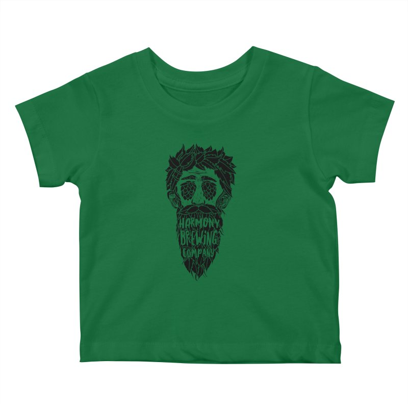 Hop Eyed Guy Kids Baby T-Shirt by Harmony Brewing Company