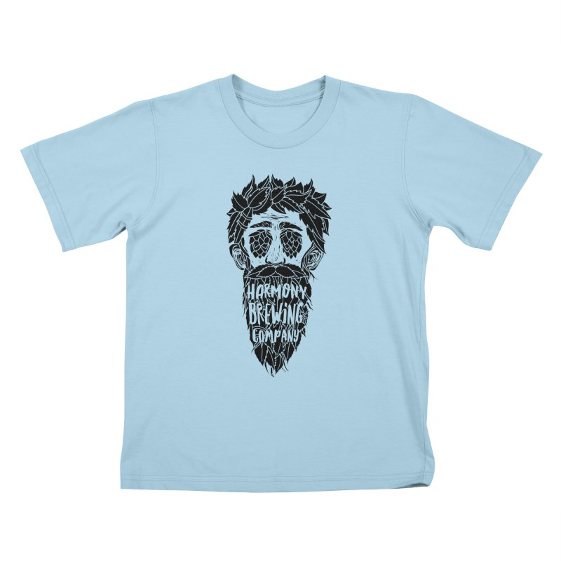Hop Eyed Guy Kids T-Shirt by Harmony Brewing Company