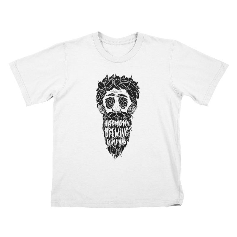 Hop Eyed Guy Kids T-Shirt by Harmony Brewing Company