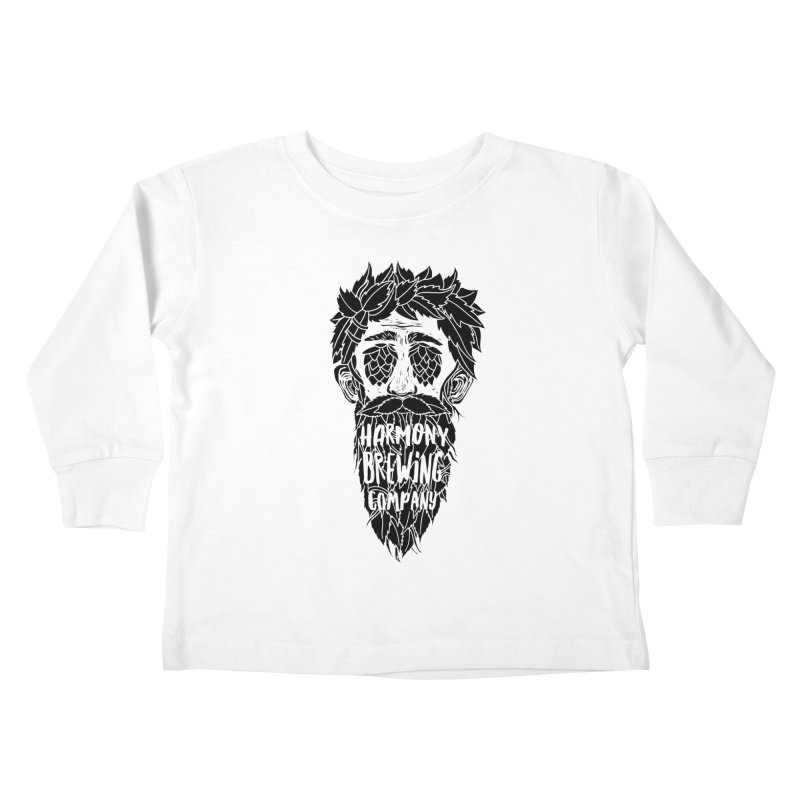 Hop Eyed Guy Kids Toddler Longsleeve T-Shirt by Harmony Brewing Company