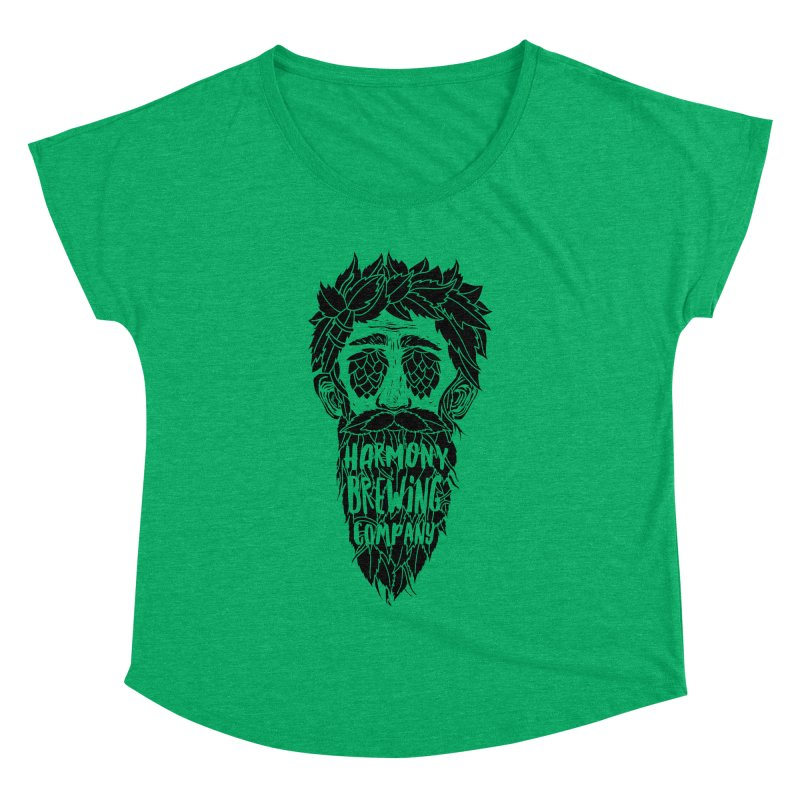 Hop Eyed Guy Women's Scoop Neck by Harmony Brewing Company
