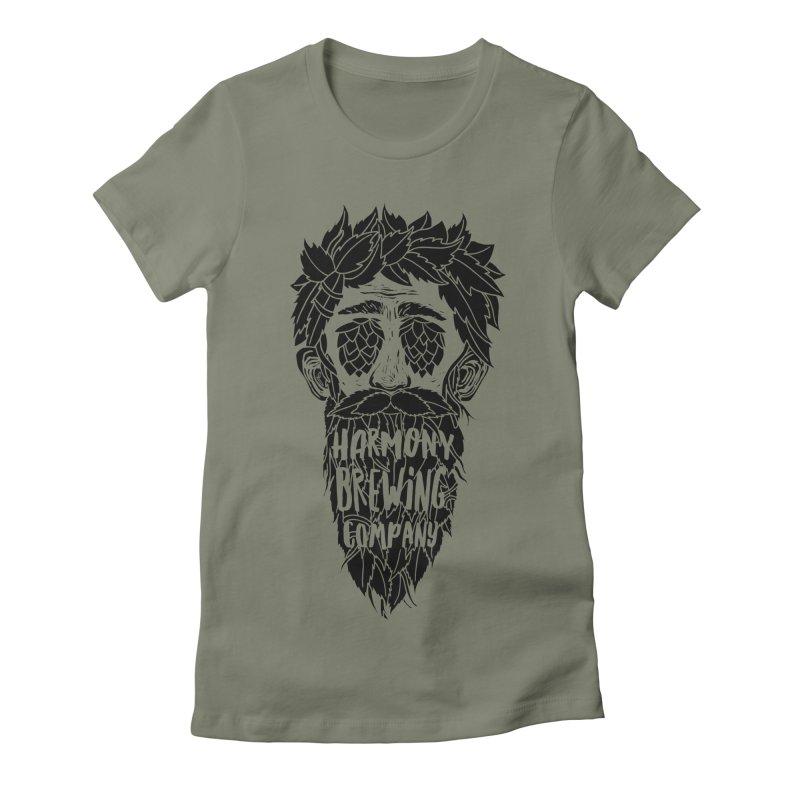 Hop Eyed Guy Women's T-Shirt by Harmony Brewing Company