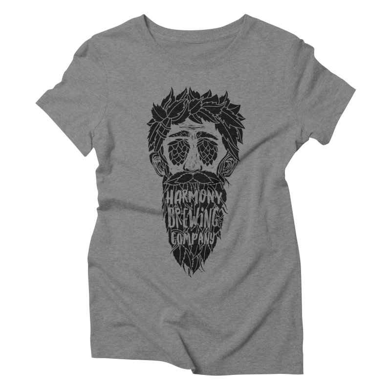 Hop Eyed Guy Women's Triblend T-Shirt by Harmony Brewing Company