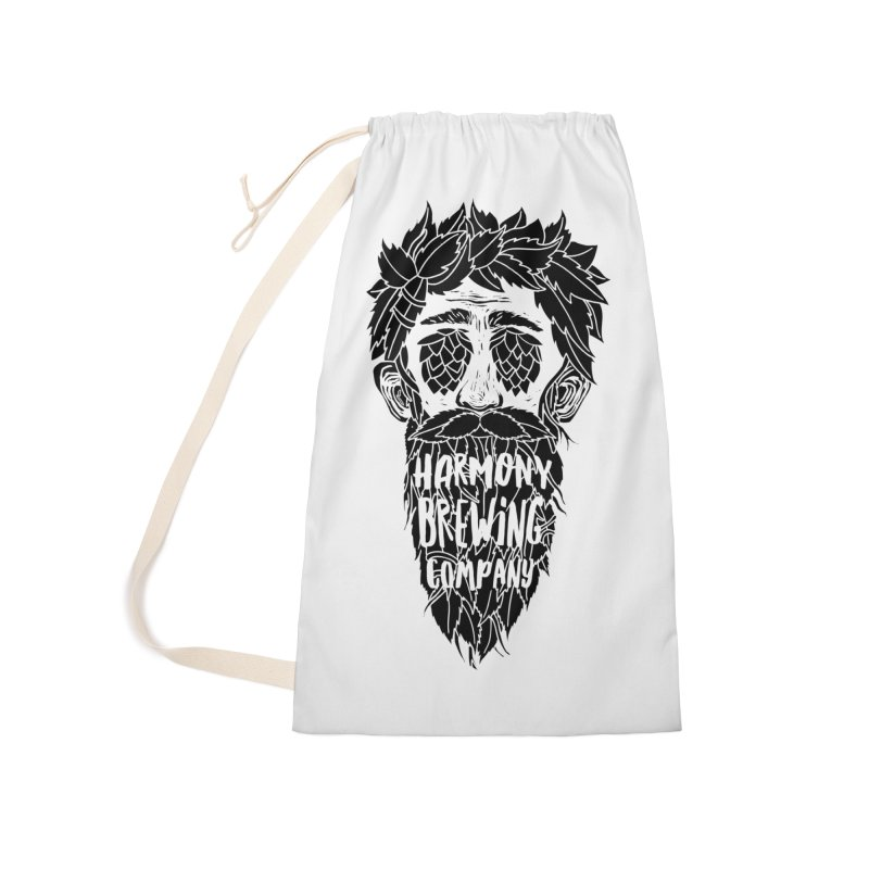 Hop Eyed Guy Accessories Laundry Bag Bag by Harmony Brewing Company