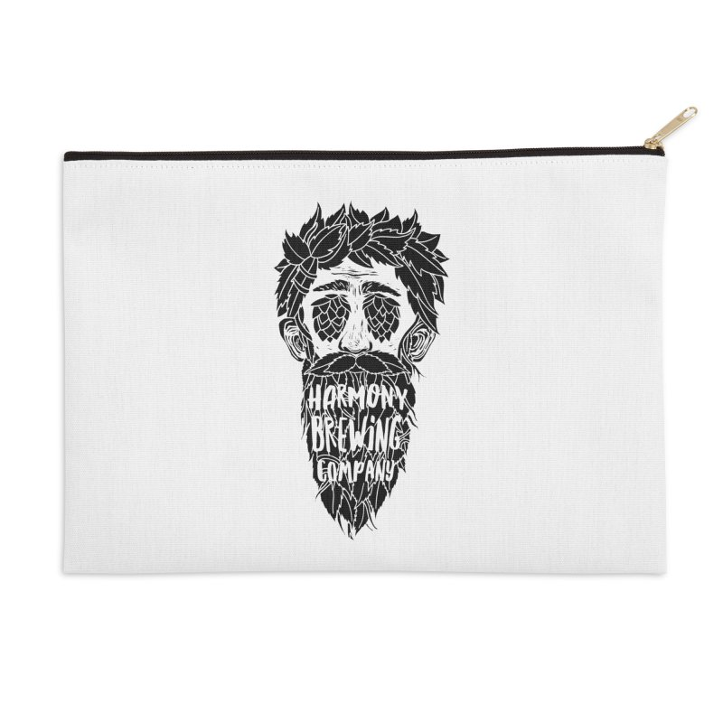 Hop Eyed Guy Accessories Zip Pouch by Harmony Brewing Company