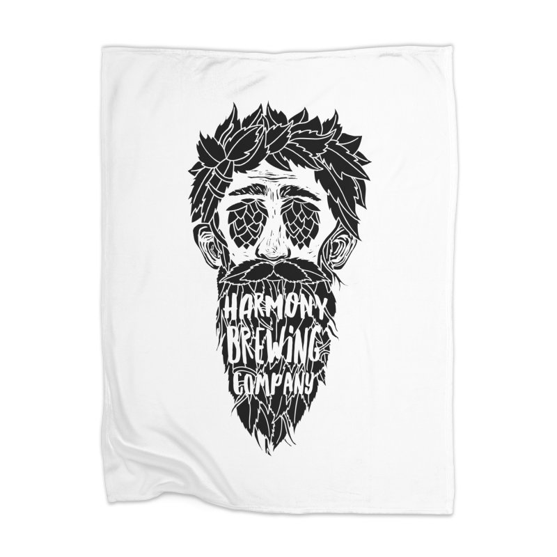 Hop Eyed Guy Home Blanket by Harmony Brewing Company