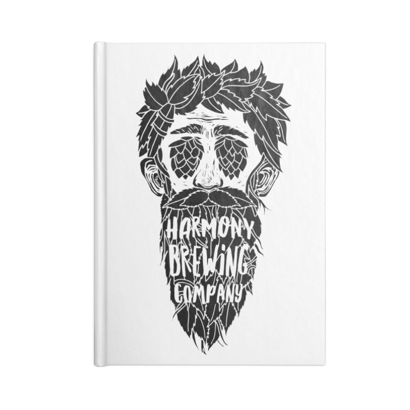 Hop Eyed Guy Accessories Notebook by Harmony Brewing Company