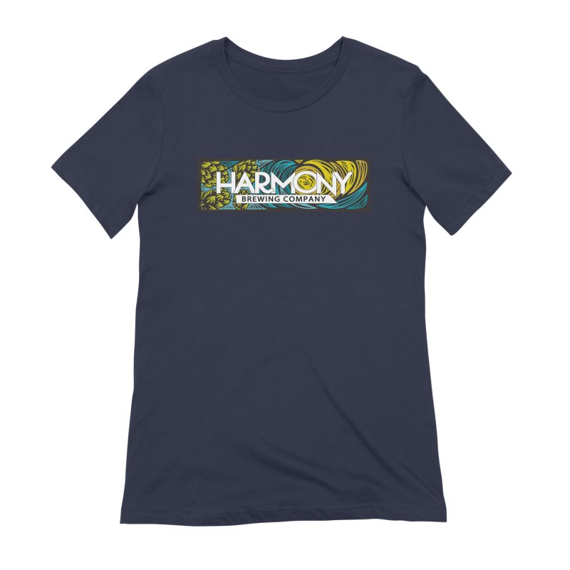Seeking Harmony Women's Extra Soft T-Shirt by Harmony Brewing Company