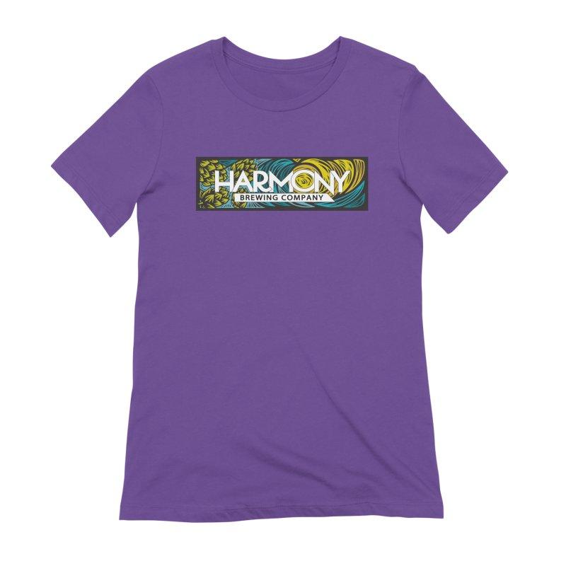 Seeking Harmony Women's Extra Soft T-Shirt by Harmony Brewing Company