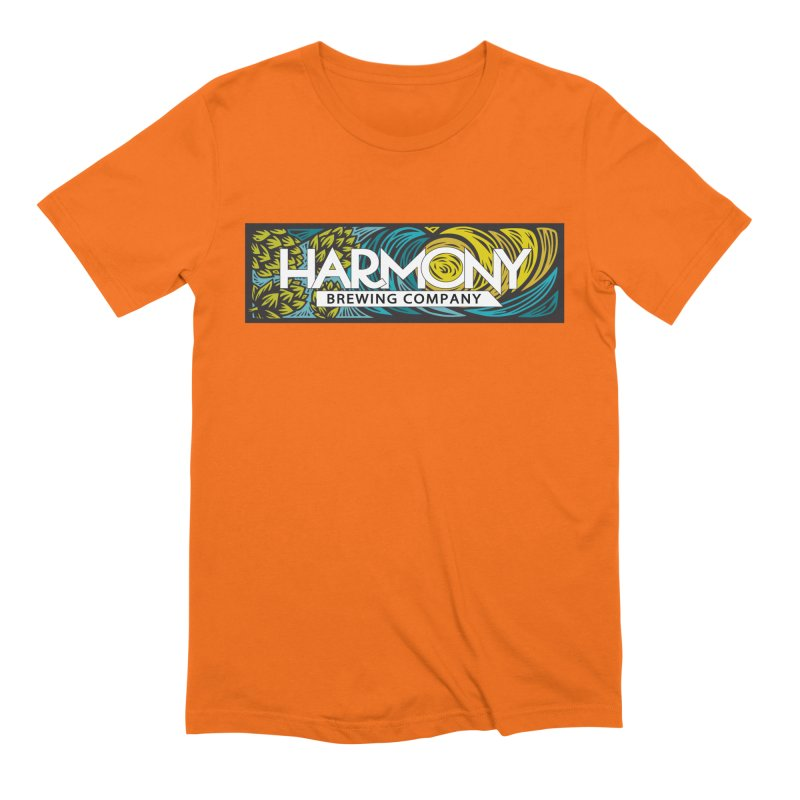 Seeking Harmony Men's Extra Soft T-Shirt by Harmony Brewing Company
