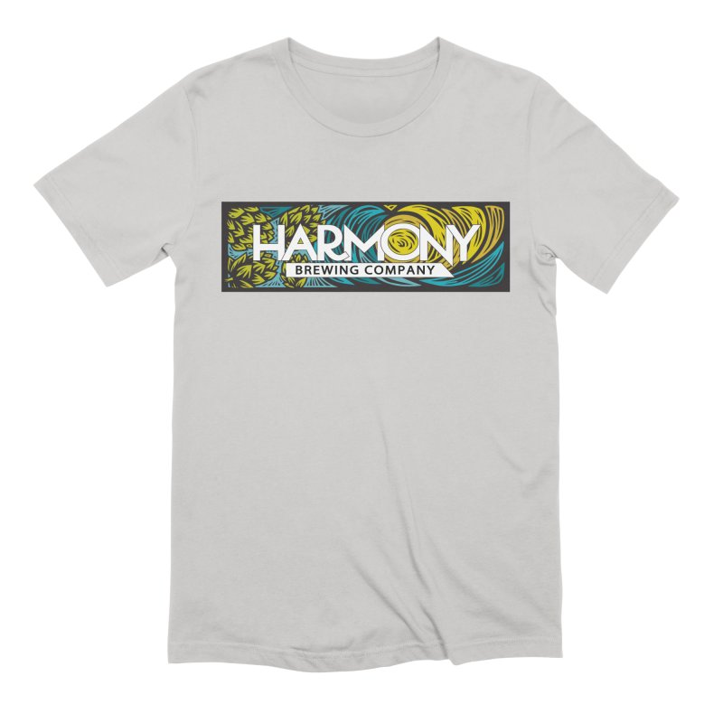Seeking Harmony Men's Extra Soft T-Shirt by Harmony Brewing Company