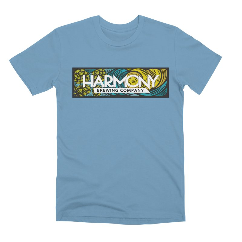 Seeking Harmony Men's Premium T-Shirt by Harmony Brewing Company