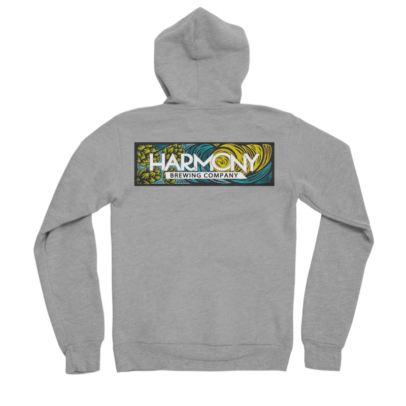 Seeking Harmony Men's Sponge Fleece Zip-Up Hoody by Harmony Brewing Company
