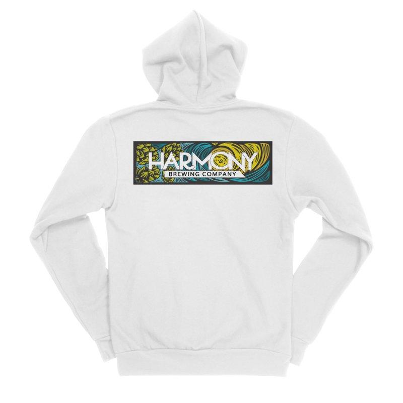 Seeking Harmony Men's Zip-Up Hoody by Harmony Brewing Company