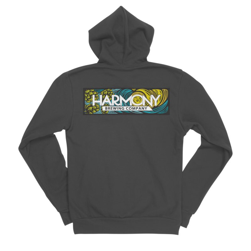 Seeking Harmony Women's Sponge Fleece Zip-Up Hoody by Harmony Brewing Company