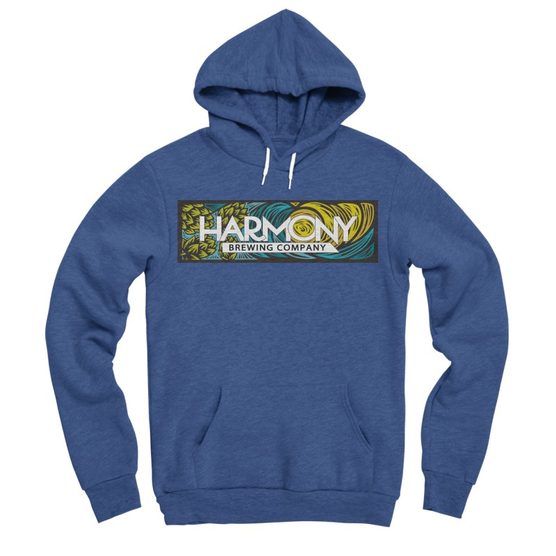 Seeking Harmony Men's Sponge Fleece Pullover Hoody by Harmony Brewing Company
