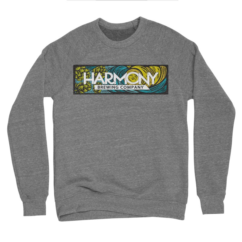 Seeking Harmony Men's Sponge Fleece Sweatshirt by Harmony Brewing Company