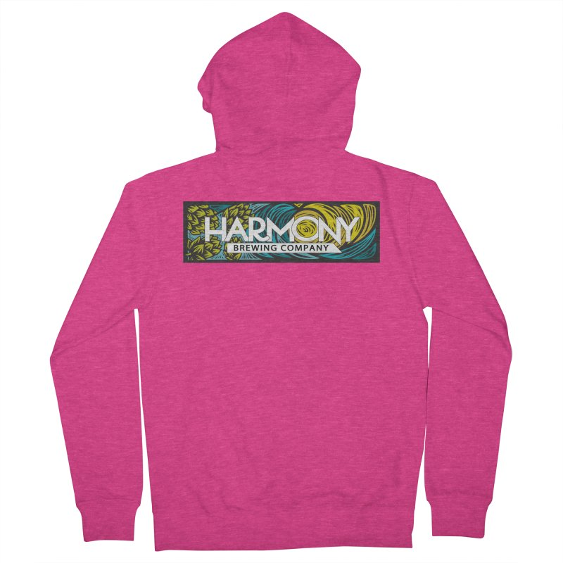 Seeking Harmony Women's French Terry Zip-Up Hoody by Harmony Brewing Company