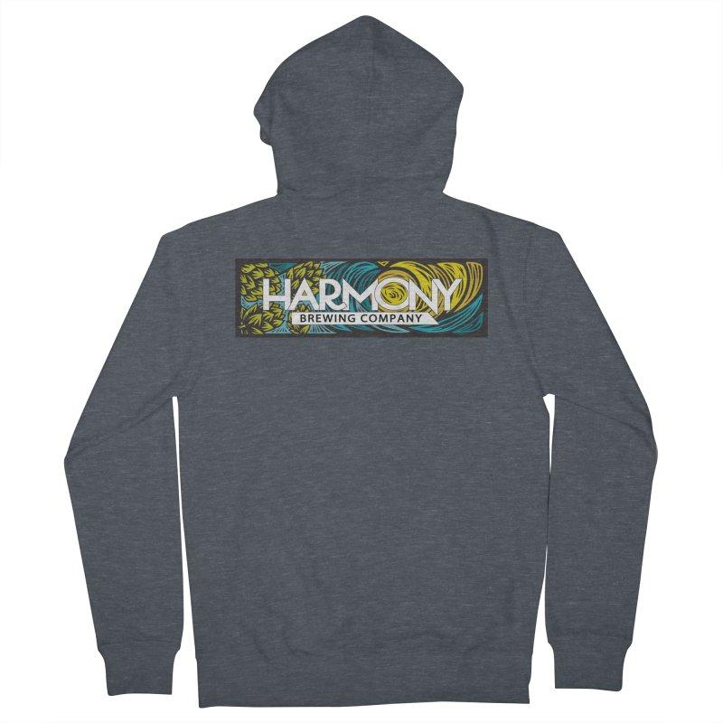 Seeking Harmony Men's French Terry Zip-Up Hoody by Harmony Brewing Company