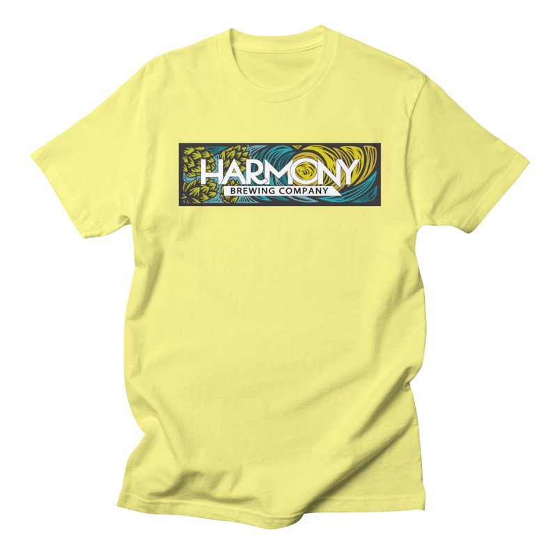 Seeking Harmony Men's Regular T-Shirt by Harmony Brewing Company