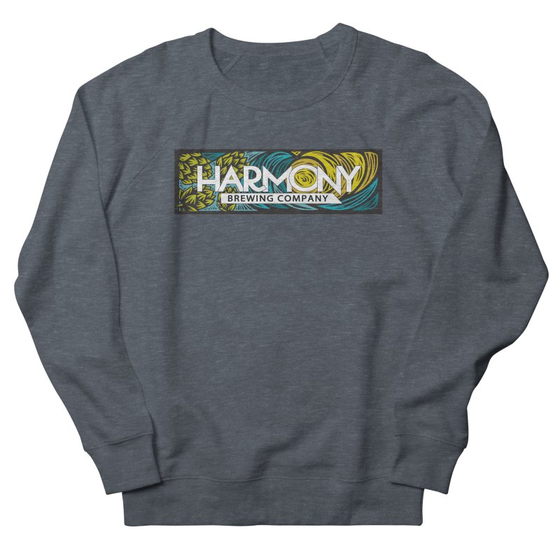 Seeking Harmony Women's French Terry Sweatshirt by Harmony Brewing Company
