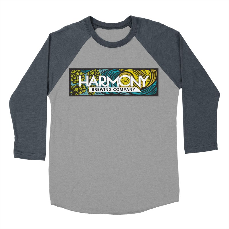 Seeking Harmony Men's Baseball Triblend Longsleeve T-Shirt by Harmony Brewing Company