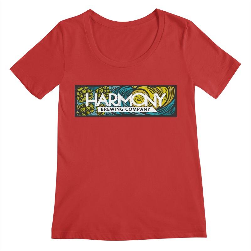 Seeking Harmony Women's Regular Scoop Neck by Harmony Brewing Company