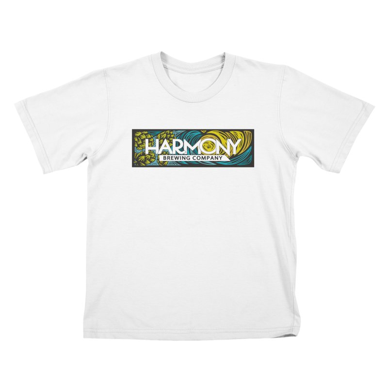 Seeking Harmony Kids T-Shirt by Harmony Brewing Company