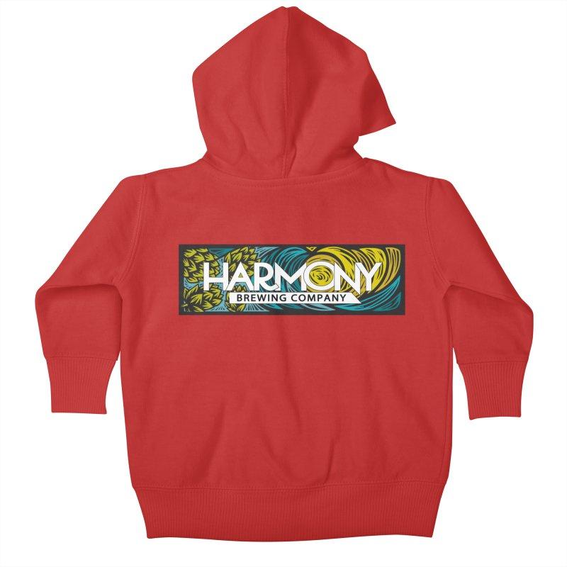 Seeking Harmony Kids Baby Zip-Up Hoody by Harmony Brewing Company