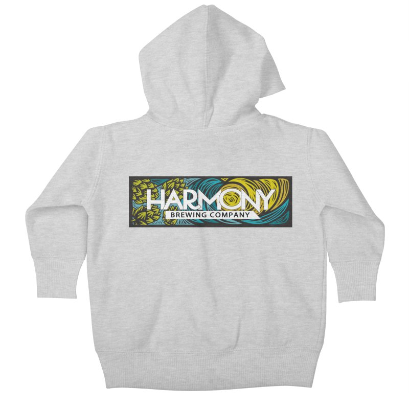 Seeking Harmony Kids Baby Zip-Up Hoody by Harmony Brewing Company