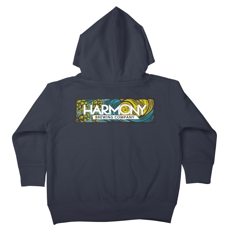 Seeking Harmony Kids Toddler Zip-Up Hoody by Harmony Brewing Company