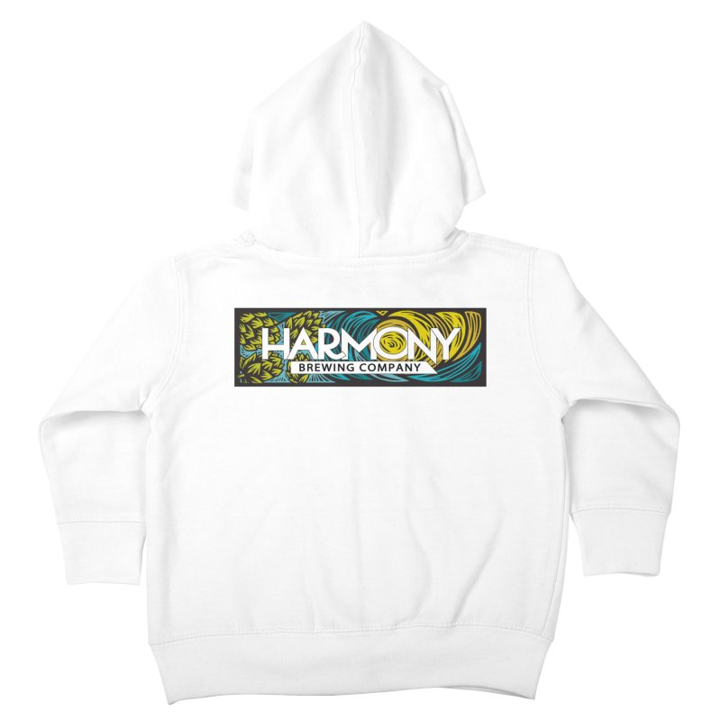 Seeking Harmony Kids Toddler Zip-Up Hoody by Harmony Brewing Company