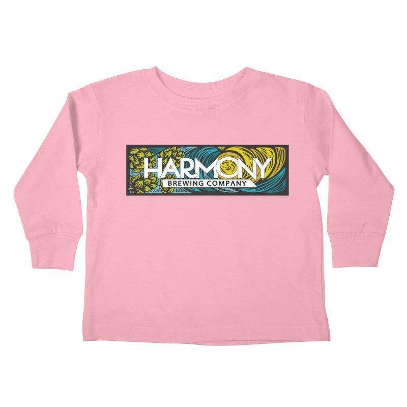 Seeking Harmony Kids Toddler Longsleeve T-Shirt by Harmony Brewing Company