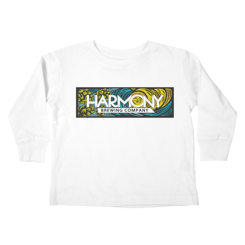 Seeking Harmony Kids Toddler Longsleeve T-Shirt by Harmony Brewing Company