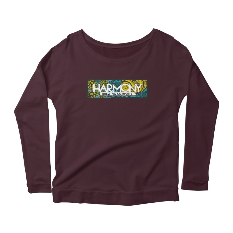 Seeking Harmony Women's Scoop Neck Longsleeve T-Shirt by Harmony Brewing Company