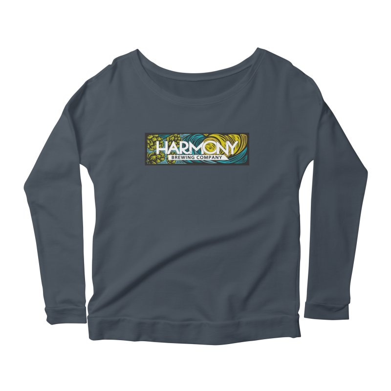 Seeking Harmony Women's Scoop Neck Longsleeve T-Shirt by Harmony Brewing Company