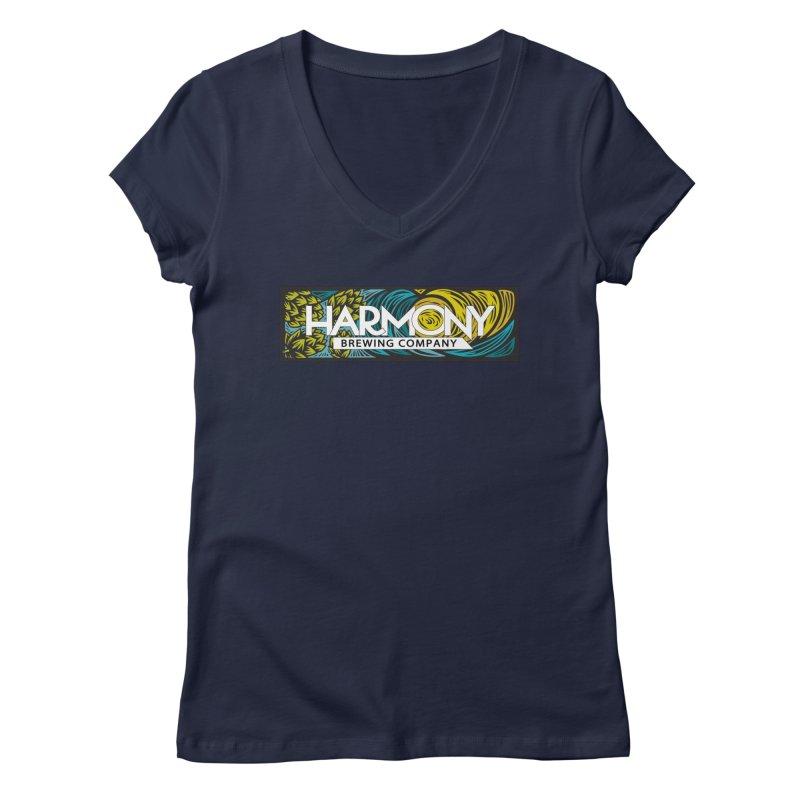 Seeking Harmony Women's V-Neck by Harmony Brewing Company