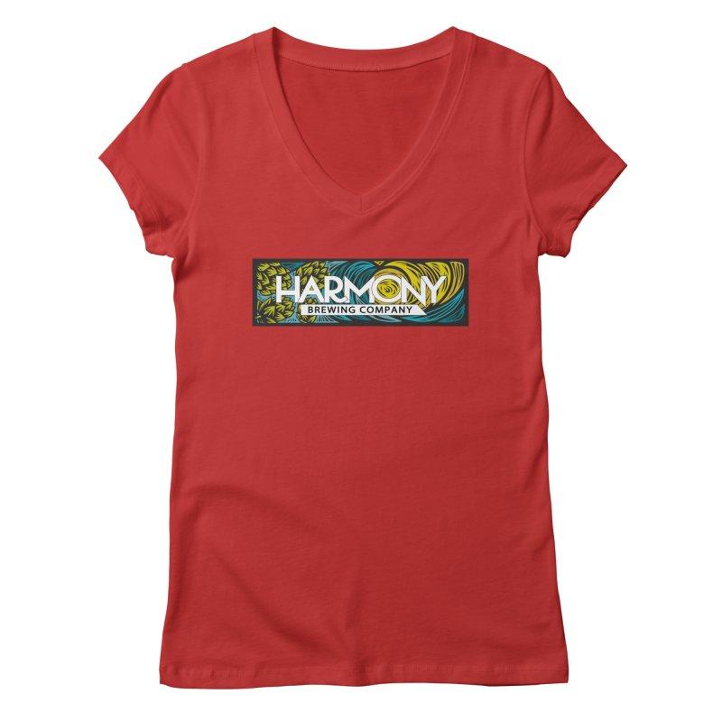 Seeking Harmony Women's Regular V-Neck by Harmony Brewing Company