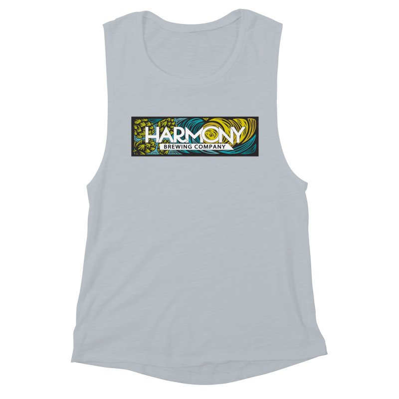 Seeking Harmony Women's Muscle Tank by Harmony Brewing Company