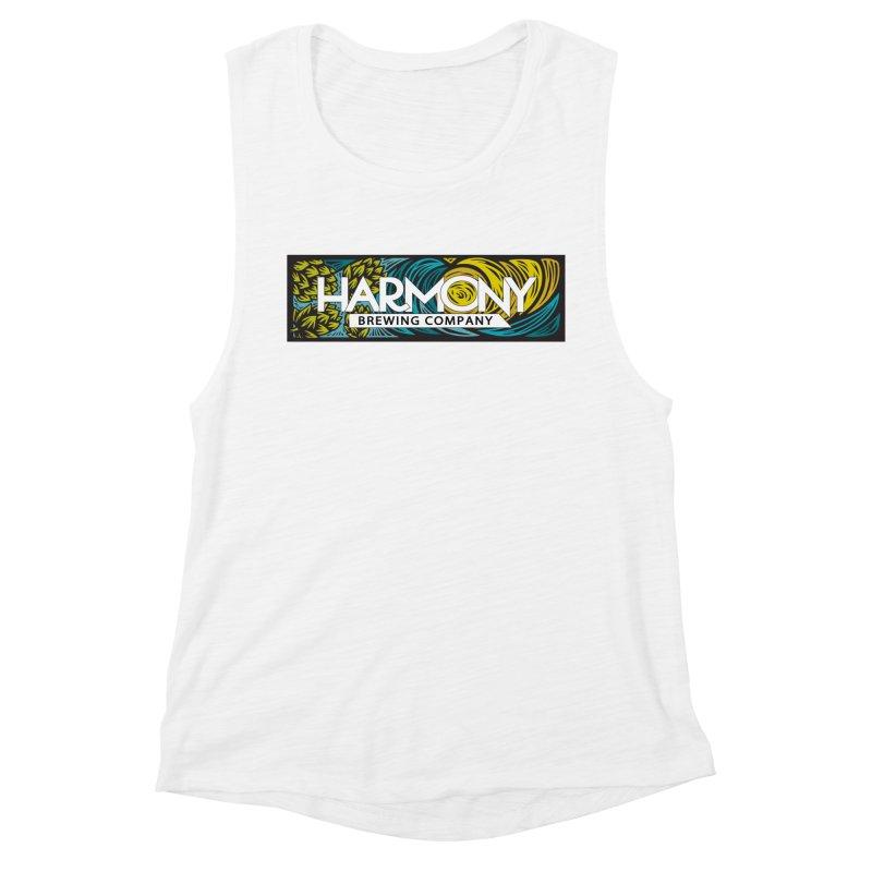 Seeking Harmony Women's Muscle Tank by Harmony Brewing Company