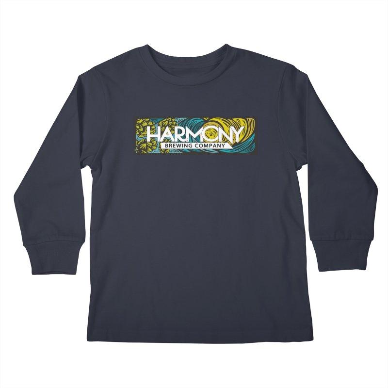 Seeking Harmony Kids Longsleeve T-Shirt by Harmony Brewing Company