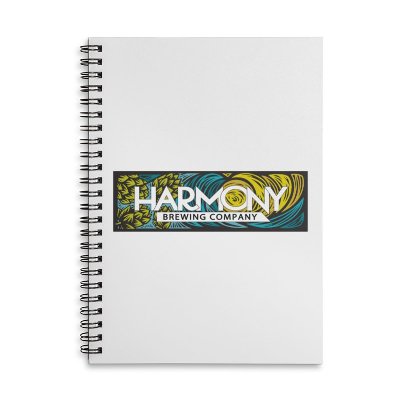 Seeking Harmony Accessories Lined Spiral Notebook by Harmony Brewing Company